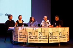 Wikipedia-ForscherInnen auf der Wikipedia-Konferenz Critical Point of View in Amsterdam